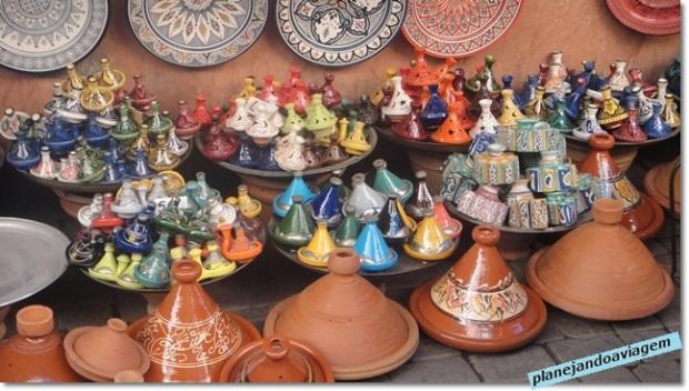 Artesanatos Medina (panelas de tagine - prato típico)