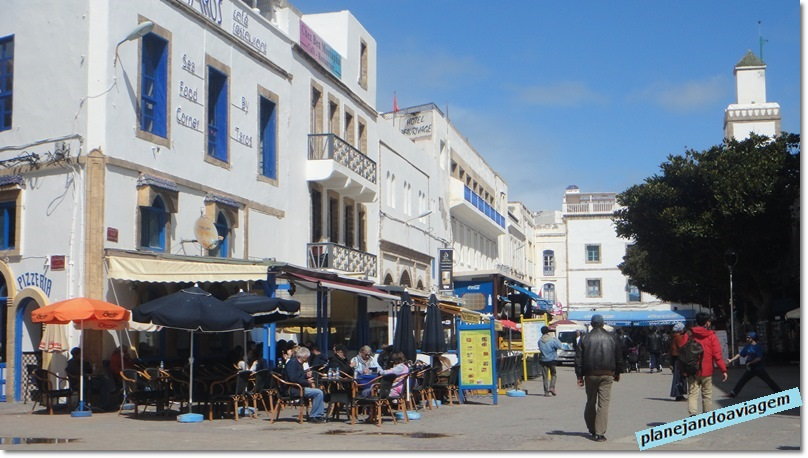 Restaurantes na Praça Moulay Hassan