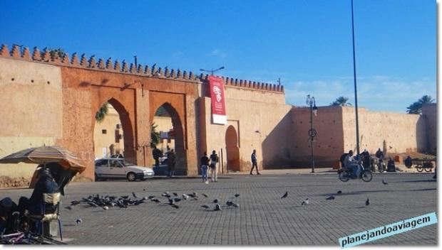 Uma das entradas da Medina em Marrakesh