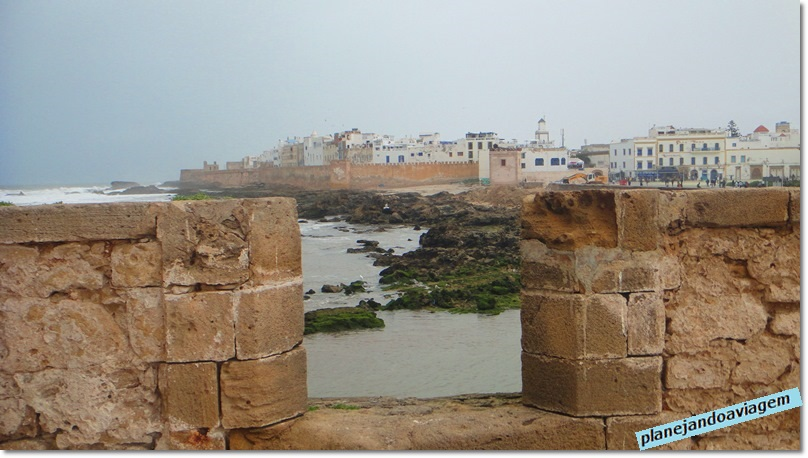 - Vista da Medina do Forte no Porto dos Pescadores