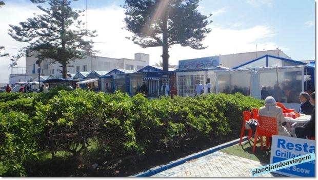 Restaurantes de pescados no Porto dos Pescadores
