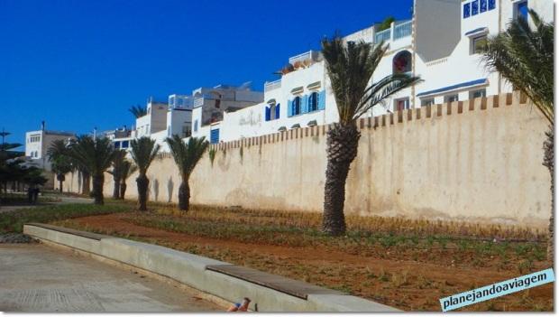 Muros ao redor Medina Essaouira
