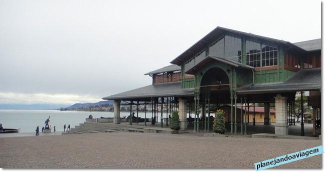 Galeria e Rua do Mercado em Montreux