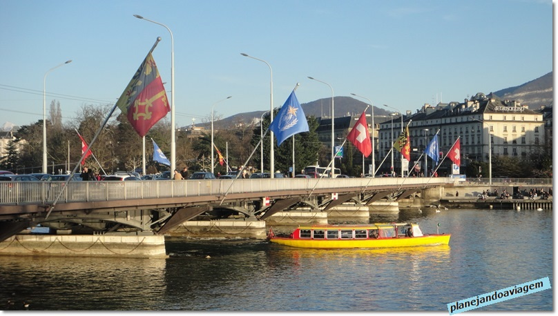 Genebra - Ponte du Mont-blanc