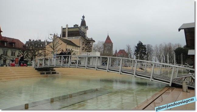 Lausanne - bairro Ouchy Olimpic