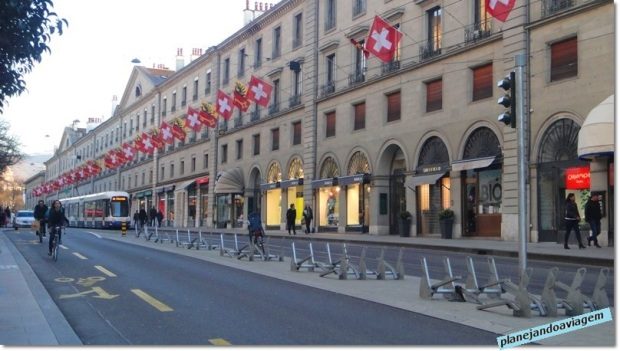 Genebra - Rue de la Corraterie