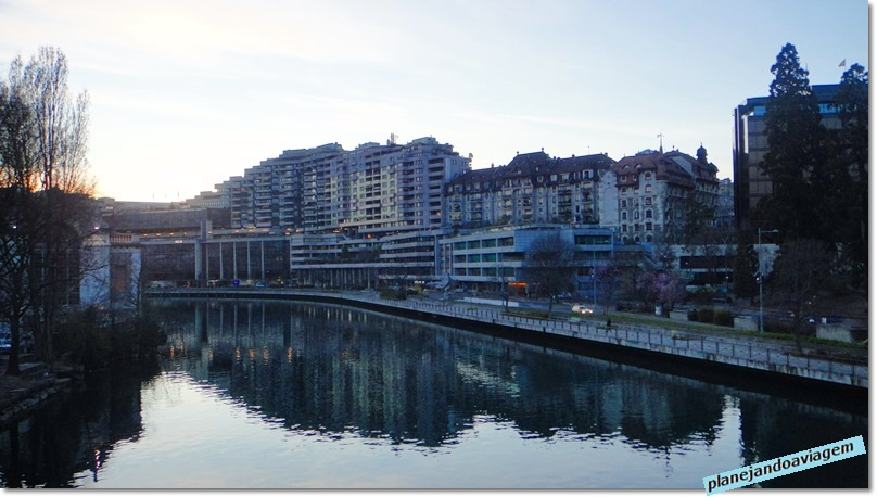 Genebra - Ponte de la Coulouvreniere