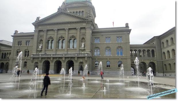 As águas/fontes do Bundeshaus