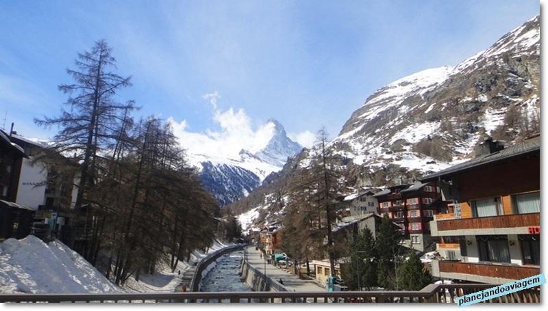 Zermatt, aos pés do Matterhorn