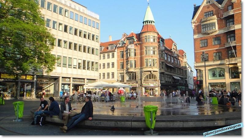 Praça Kultorvet na Old Town