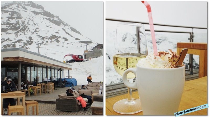 Restaurante no Sunnega em Zermatt