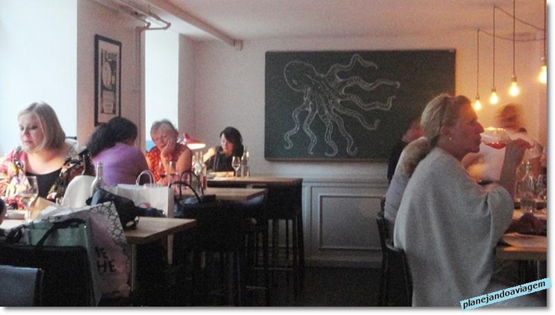 Restaurante CoFoCo em Copenhagen - ambiente