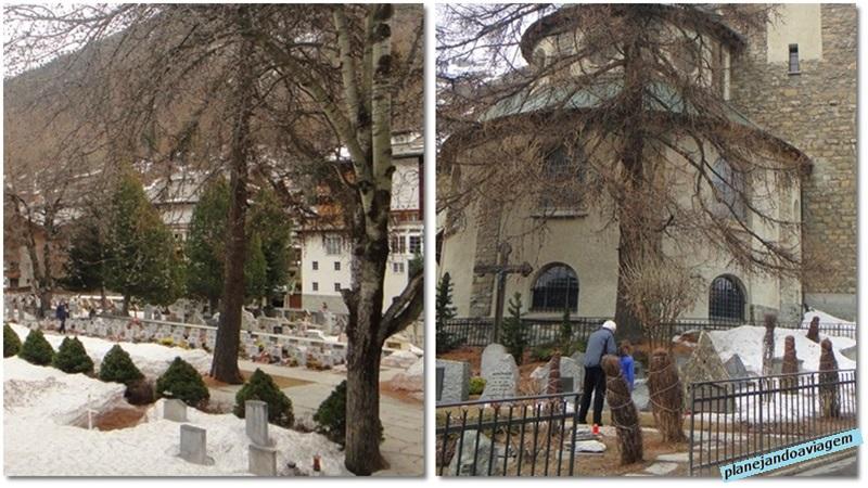 Cemiterio dos Alpinistas em Zermatt
