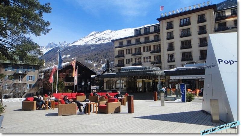 Hotel no centro de Zermatt e ao lado do Museu Matterhorn