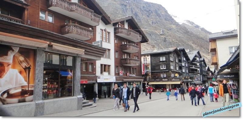 Rua Principal de Zermatt