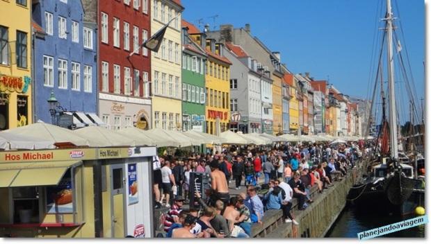 Nyhvan - o cartão postal de Copenhagen