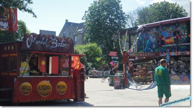 Christiania - ruas