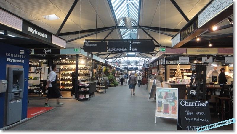 Mercado Gastronomico de Torvehallerne - interior