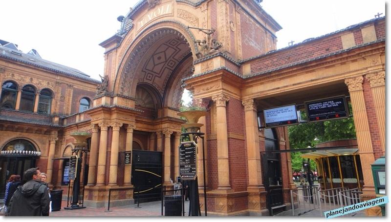 Tivoli Gardens - entrada