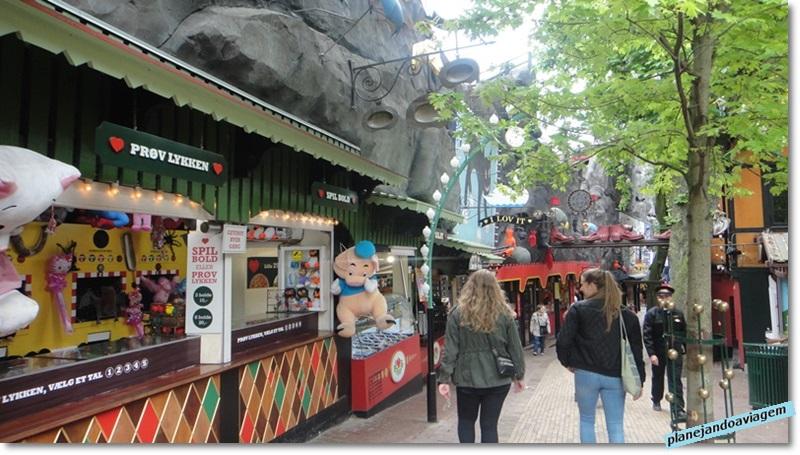 Tivoli Gardens - jogos e diversões