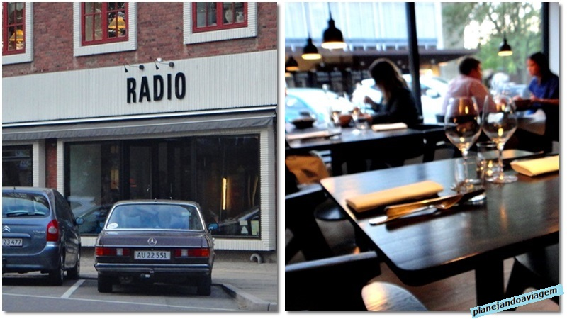Restaurante Radio - fachada e interior