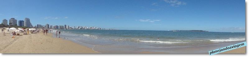 Praia Mansa (parada 7) e Ilha Gorriti