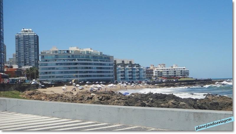 Praia El Emir - centro de Punta del Este