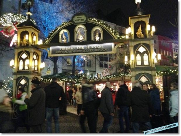 Mercado de Natal do Centro Histórico - um dos portico de entrada