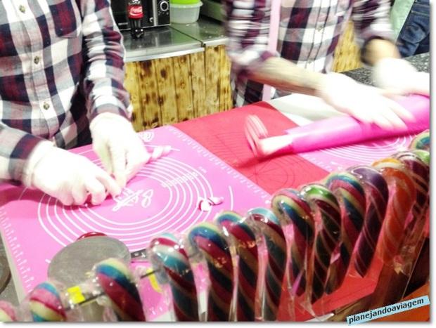 Mercado de Natal do Centro Histórico - fabricacao artesanal de doces