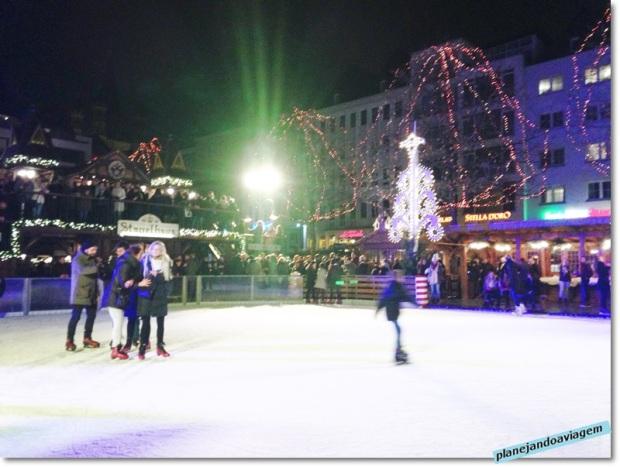 Mercado de Natal do Centro Histórico - pista de patinacao
