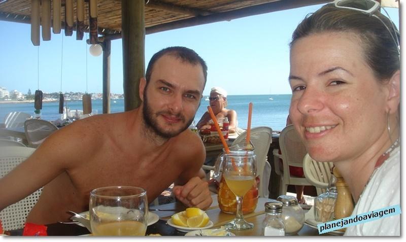 Almoco no L Marangatu em Punta del Este - parada 7