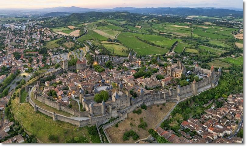 Carcassone e sua Cidade Medieval – uma das mais conservadas de ...