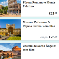 Seis praias próximas de Roma