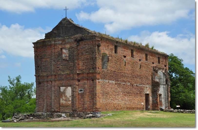 Galera de las Huerfanas, ruínas das missões jesuítas proximas a Carmelo