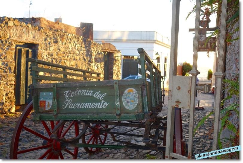 Carreta em Colonia del Sacramento