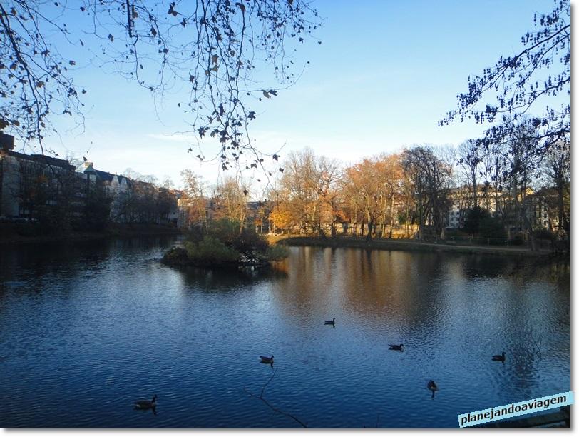 Parque em Dusseldorf - Hofgarten