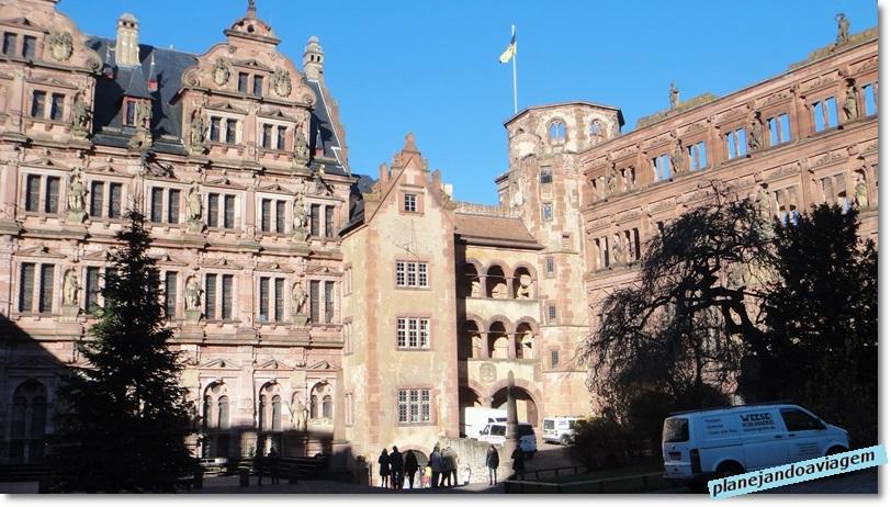 Ruinas do Castelo de Heidelberg