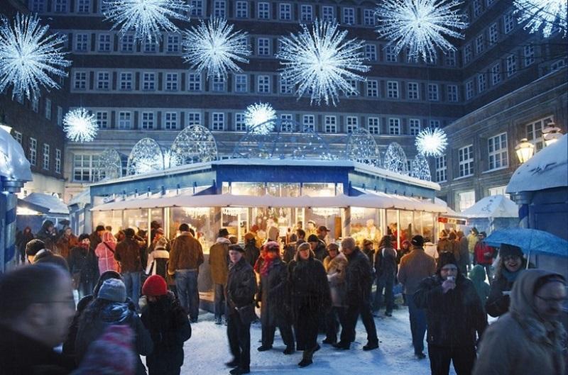 Mercado de Natal Dusseldorf- SternchenMarkt em Dusseldorf