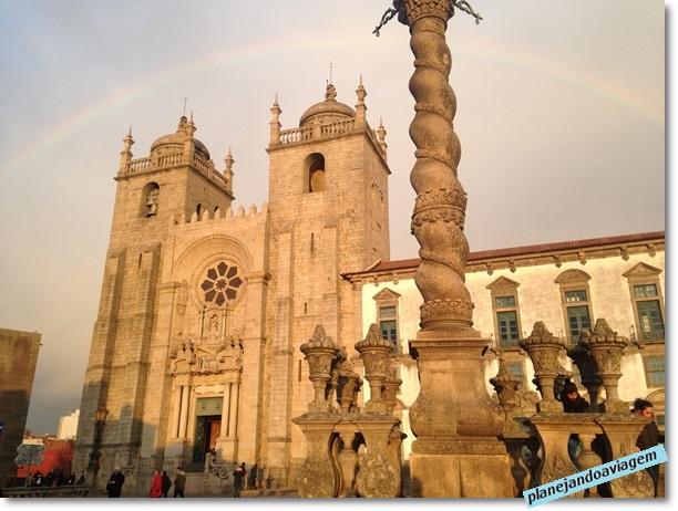 Fachada da Catedral do Porto