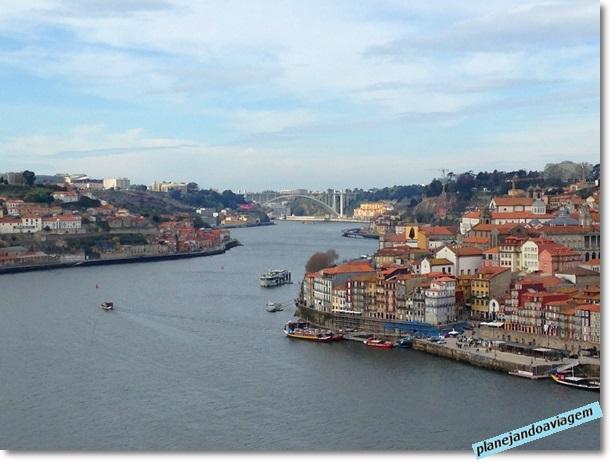 Vista do Porto a partir de Vila Nova Gaia