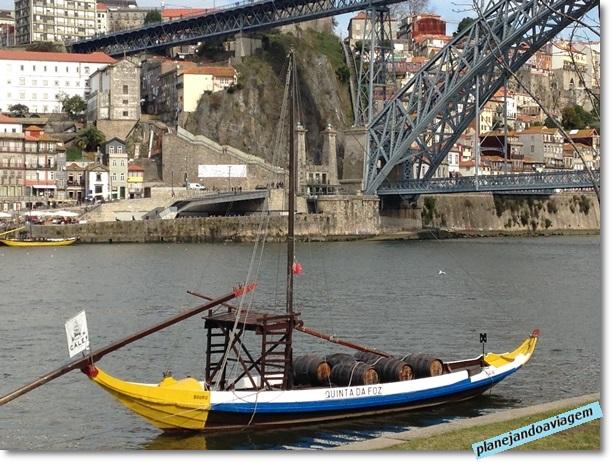 Barco em Vila Nova Gaia