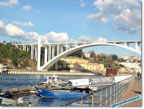 Ponte Arrábida vista de Afurada