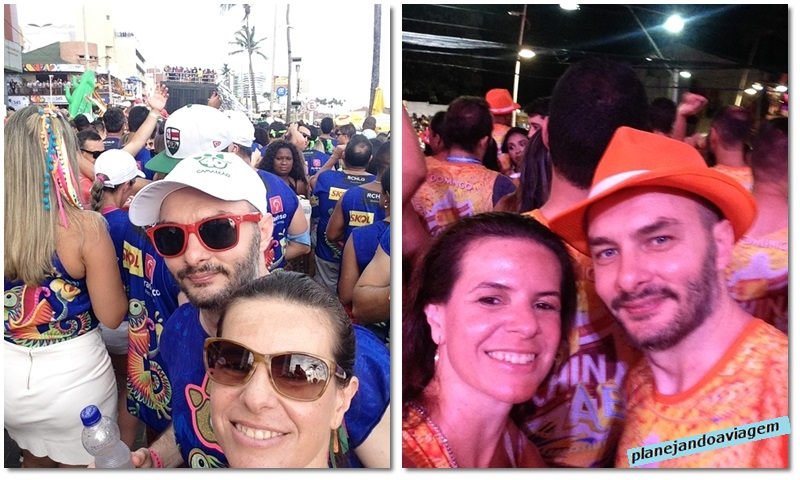 Carnaval de Salvador - Bloco Camaleao e Camarote Schin