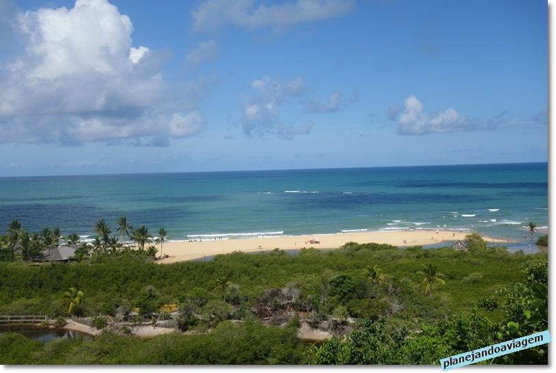 Trancoso - praia vista do Mirante no Quadrado