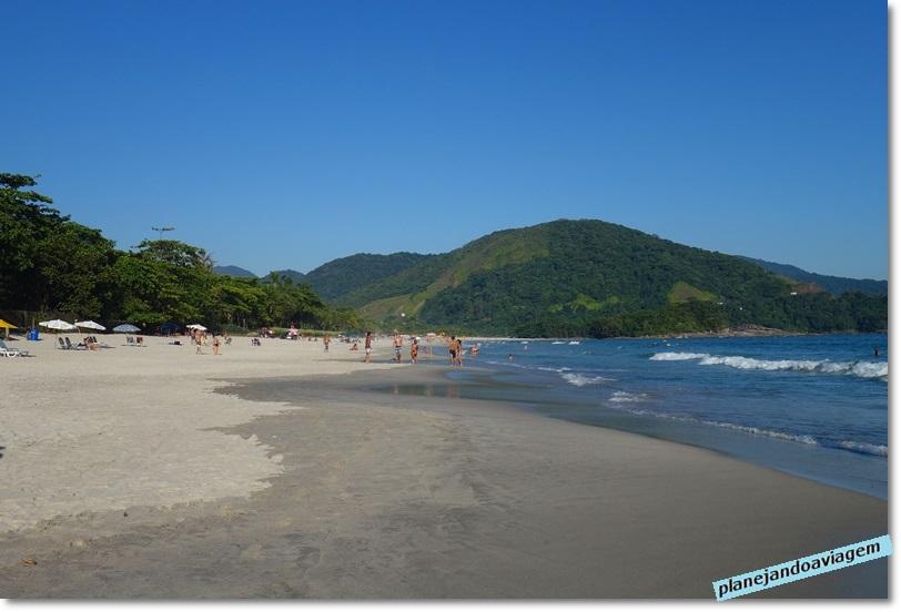 Praia de Camburi - Litoral Norte de SP