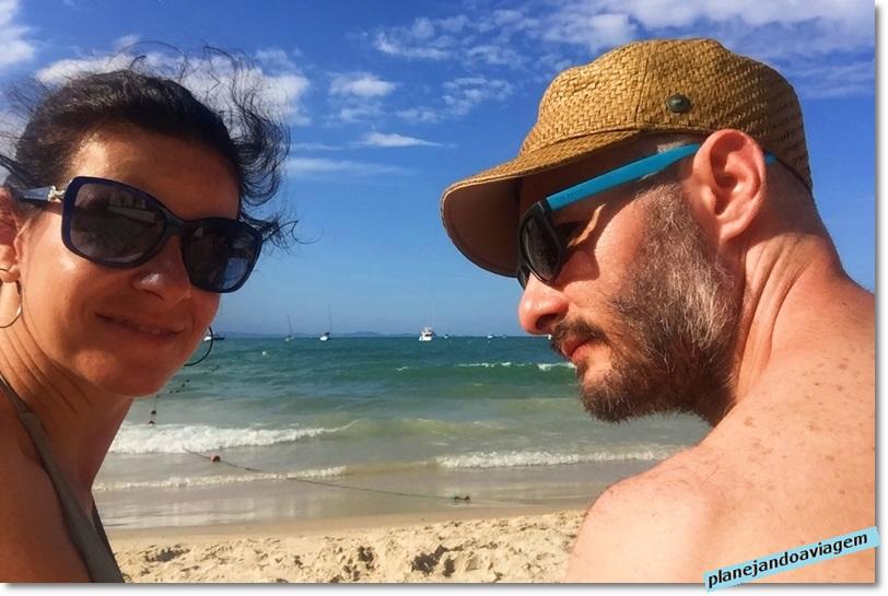 Praia de Jurere em Florianopolis