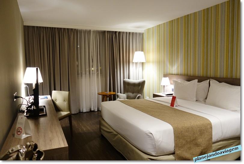 Hotel Frontier em Rivera - quarto