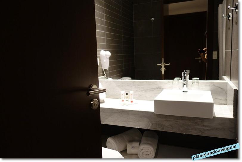 Hotel Frontier em Rivera - banheiro