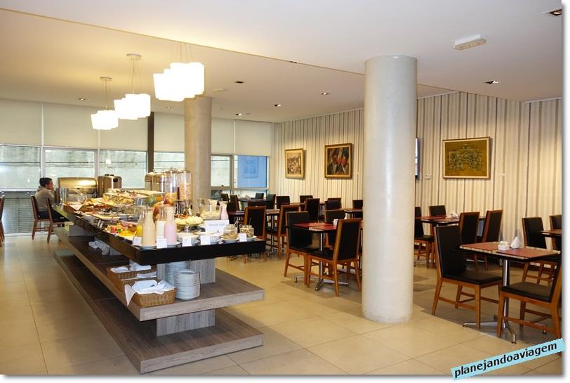 Hotel Frontier em Rivera - Café da manhã