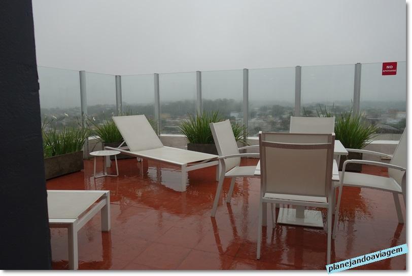 Hotel Frontier em Rivera - solarium